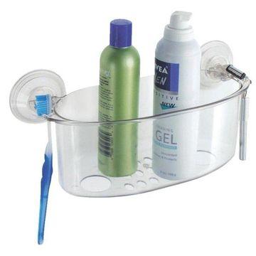 Interdesign Suction Shower Basket 52420