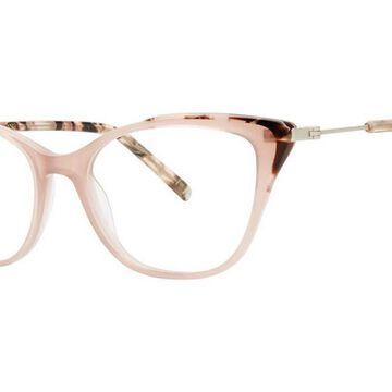 Vera Wang V567 Rose Tortoise Men's Glasses Brown Size 50 - Free Lenses - HSA/FSA Insurance - Blue Light Block Available