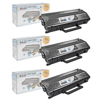 Compatible Toner Cartridge Replacement for X463H11G High Yie (Black, 3-Pack)