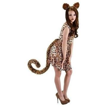 Morris Costumes Halloween Party Cosplay Oversized Leopard Tail