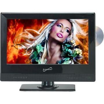 Supersonic 13.3'' 720p Ac And Dc Widescreen Led Hdtv And Dvd Combination Sscsc1312