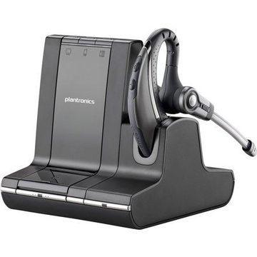 Plantronics, PLNSAVI730, Wireless Over-the-Ear Headset, 1, Black,Silver