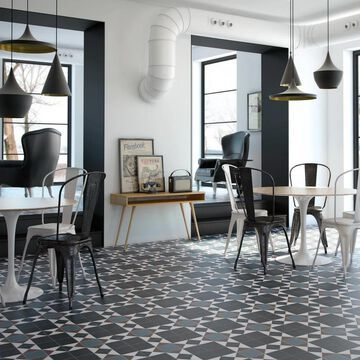 SomerTile 13x13-inch Narcissus Nouveau Porcelain Floor and Wall Tile (10 tiles/12.2 sqft.)