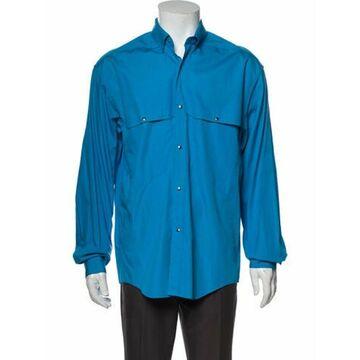 Long Sleeve Denim Shirt Denim