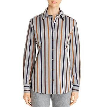 Lafayette 148 New York James Cotton Blouse