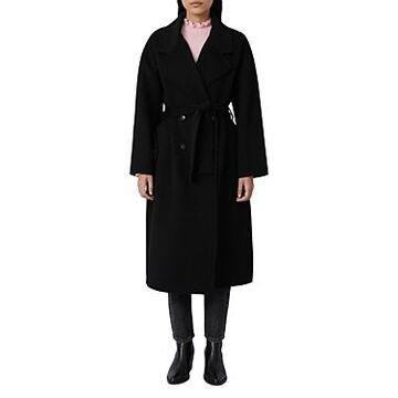 Maje Gerry Belted Coat