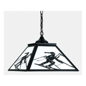 15422 22.5 Inch Hanging Skier Shade Black