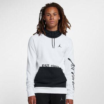 Jordan JSW Greatest Pullover Hoodie - White / Black