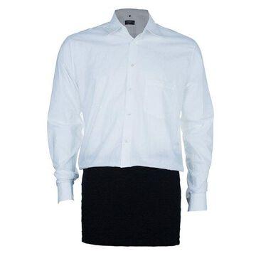 Jean Paul Gaultier White Men's Shirt L