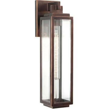 Kalco Chester Outdoor Wall Light in Copper Patina