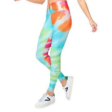 Totally Tie-Dye DuoKnit Leggings
