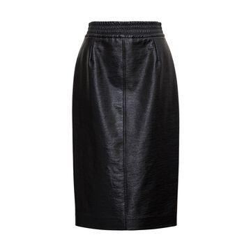 Jucca Leatheret Midi Skirt