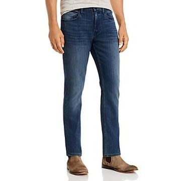Paige Federal Straight Slim Jeans in Richards
