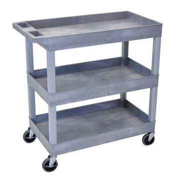 Luxor 3-Shelf Tub Cart