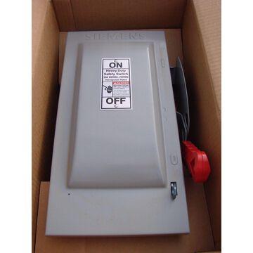 Siemens Electric 30Amp HF221N 240V - 250VDC Heavy Duty Safety Switch Type-1