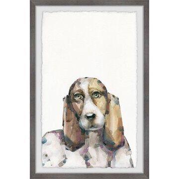 Parvez Taj Big Beagle Framed Wall Art