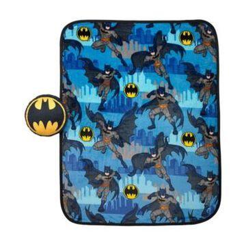 Batman Pillow & Throw Nogginz Set Bedding