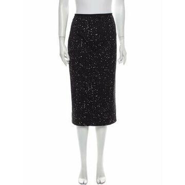 2020 Midi Length Skirt Black