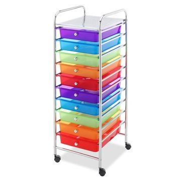 Whitmor 10-Drawer Cart