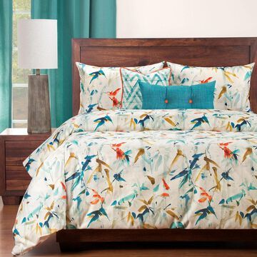 Siscovers Hummingbird 6 Piece Luxury Duvet Set