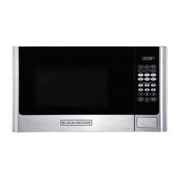Black & Decker EM925AME-P1 0.9 Cu. Ft. Microwave, Stainless Steel