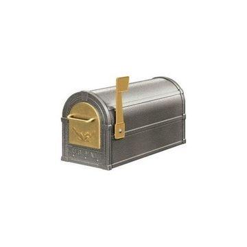 Salsbury 4855E, PWG Eagle Rural Mailbox, Pewter Gold Eagle