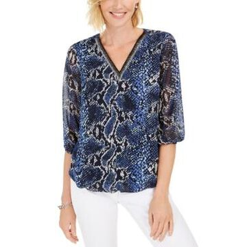 Jm Collection V-Neck Tunic, Created For Macy's