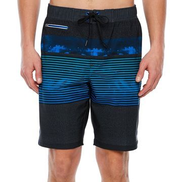 Zeroxposur Striped Board Shorts