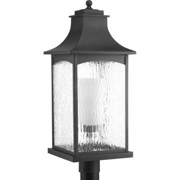 Progress Lighting Black-finish Post Lantern