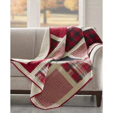 """Woolrich Huntington 50"""" x 70"""" Oversized Quilted Throw"""