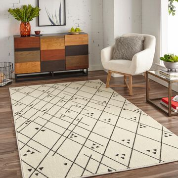 Mohawk Home Prismatic Tribal Lines Area Rug
