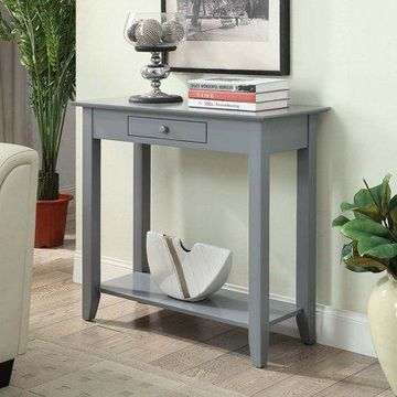 Convenience Concepts American Heritage Hall Table, Gray