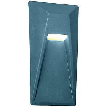 Justice Design Group Ambiance Vertice LED Wall Sconce - Color: Blue - CER-5680-MID