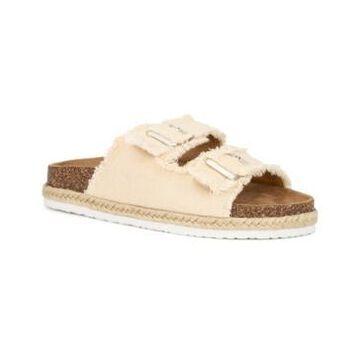Olivia Miller Women's Malibu Beach Footbed Sandals Women's Shoes