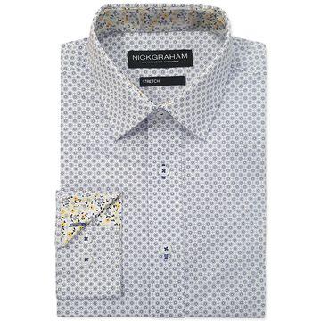 Men's Modern-Fit Circle Medallion Shirt
