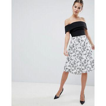 Vesper 2-In-1 Printed Skater Dress