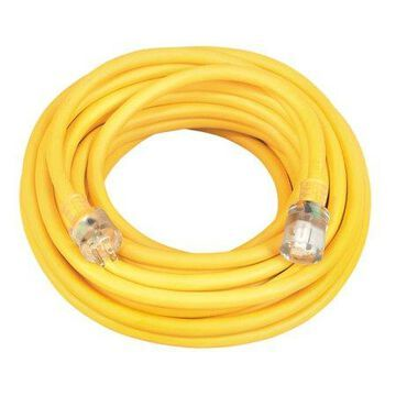 Coleman Cable 50 FT 10/3 2688SW0002 Contractor Grade Outdoor Extension Cord