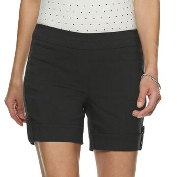 Petite Napa Valley Pull-On Shorts