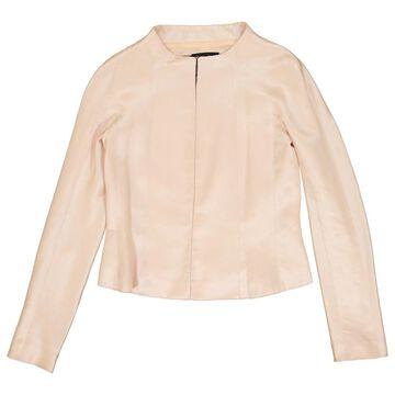 Rochas Pink Wool Jackets