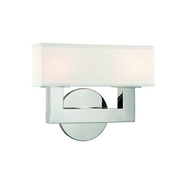 Hudson Valley Lighting Clarke 10 Inch LED Wall Sconce Clarke - 5452-PN - Transitional