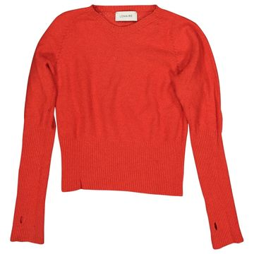 Lemaire Red Wool Knitwear