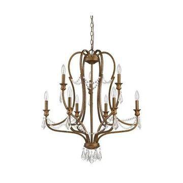 Acclaim Lighting IN11035 Gianna Chandelier, Russet