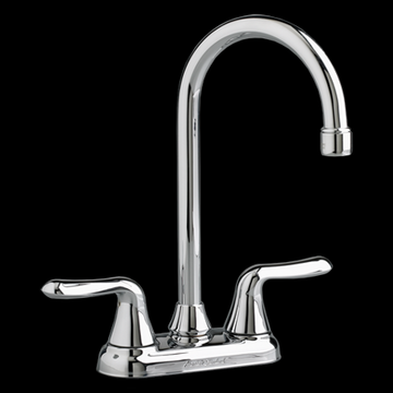 American Standard Colony Soft High-Arc Bar Sink Faucet 2.2 GPM in Polished Chrome
