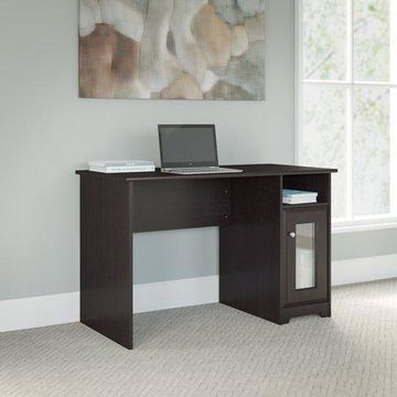 Bush Furniture Cabot Collection Computer Desk in Espresso Oak