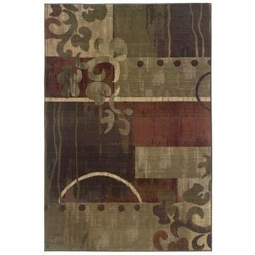 Oriental Weavers Area Rug, Generations 8007A Tranquility 2' x 3'
