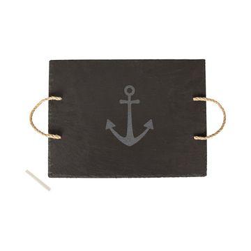 Slate Anchor Serving Board