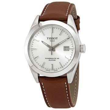 Tissot Gentleman Automatic Silver Dial Men's Watch T127.407.16.031.00