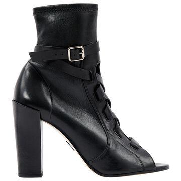 Paul Andrew \N Black Leather Heels