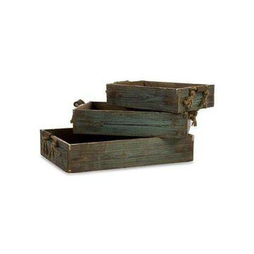 IMAX Home 29106-3 Northfork Wood Trays, Set of 3