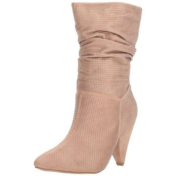 Report Womens Casi Pointed Toe Mid-Calf Fashion Boots